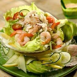 Crab and Shrimp Louis