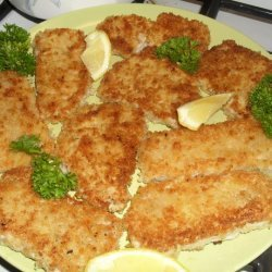 Pork Schnitzel With Noodles and Browned Cabbage