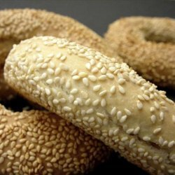 Koulóuria (Greek Sesame Bread Rings)
