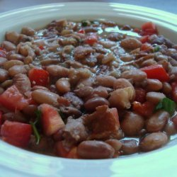 pappasito s pinto bean soup dried pinto bean water bacon cut up and 7 ...