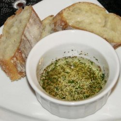 2-Second Italian Bread Olive Oil Dip recipe
