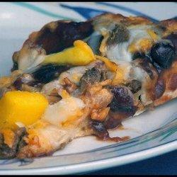 Vegetarian Cranberry - Barbecue Pizza