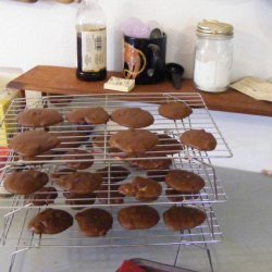 Soft Ginger Puff Cookies