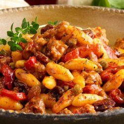 Pasta With Sausage and Sweet Peppers