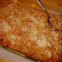 Meatless Spaghetti Casserole