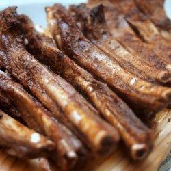 Chinese baked pork ribs