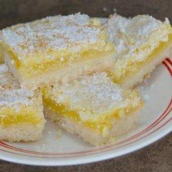 Lemon Triangles recipe