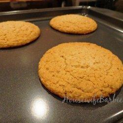 Oat Bran Oatmeal Cookies