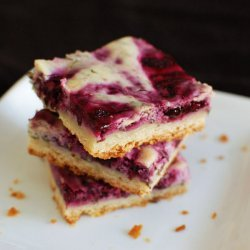 Blueberry-Cheese Bars