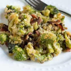 Cheesy Broccoli Bacon Casserole