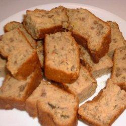 Banana-Pineapple Nut Bread (Healthy)