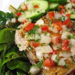 Sauteed Fish With Thai Coriander-Chili Sauce