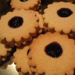 Cream Cheese Jam Cookies