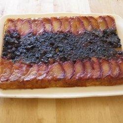 Plum Delicious Upside-Down Cake