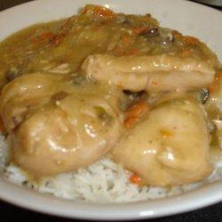 Crock Pot Chicken With Vegetable Gravy