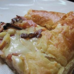 Ham and Cheese Strudels Appetizer ( Paula Deen)
