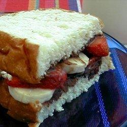 Hawaiian Nutella Sandwich