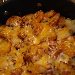 Fried Potatoes With Chile Sauce