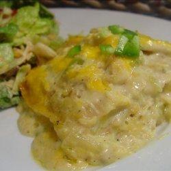 Green Chile Chicken Casserole