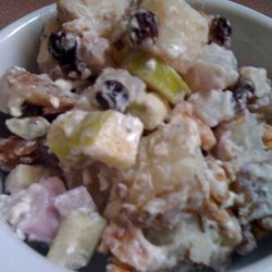Potato Salad With Blue Cheese and Walnuts