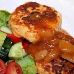 Chicken Tikka Burger recipe