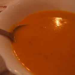 Winter Squash in Coconut Milk  (Fusion Soup)