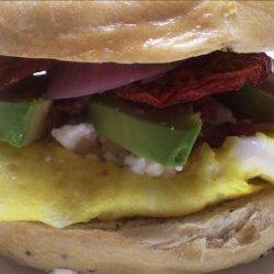 Andreas Fault Bagel Sandwich