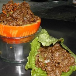 Minced Lamb With Ginger, Hoisin, and Green Onions