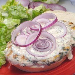 Turkey Spinach Burgers