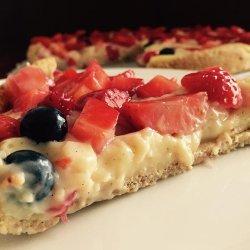 Strawberry Vanilla Pie
