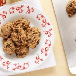 Healthy Oatmeal Banana Cookies