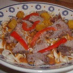 Mango-Chipotle Pot Roast - Crock Pot recipe