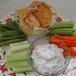 Herb and Vegie Yoghurt Dip recipe
