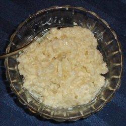 Tapioca Pudding - Easy Microwave Method