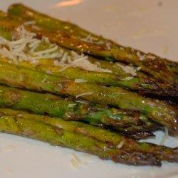 Balsamic Roasted Asparagus With Garlic