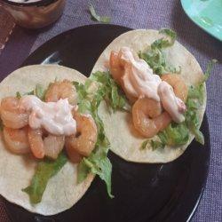 Honey Lime Shrimp Tacos