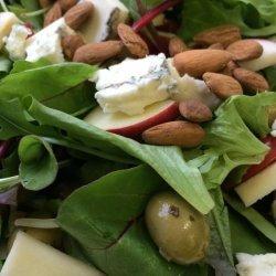 Apple, Almond & Blue Cheese Salad