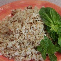 Basmati Rice With Basil and Mint