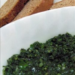 Pistou Sauce or French Pesto ( Vegan )
