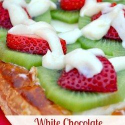White Chocolate Fruit Tarts