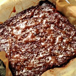 Barefoot Contessa's Salted Caramel Brownies