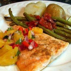 Salmon With Fresh Pineapple Salsa
