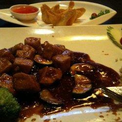 Golden Sesame Tofu