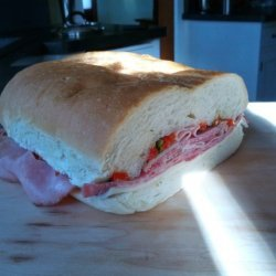 Super Bowl Italian Submarine Sandwich