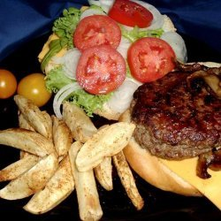 Gourmet Bleu Cheese Burgers recipe