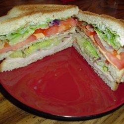Victory's Triple Decker Club Sandwich