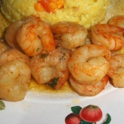 Crevettes Saute St Lucia - French Creole Style Sauteed Prawns