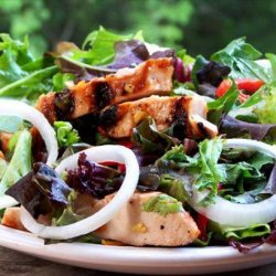 Ginger Marmalade Grilled Chicken Salad recipe