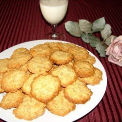 Coconut / Oatmeal Lace Cookies recipe