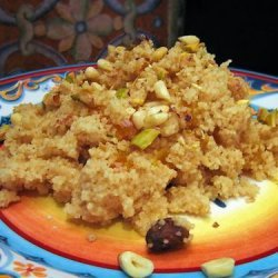 Dessert Couscous With Nuts